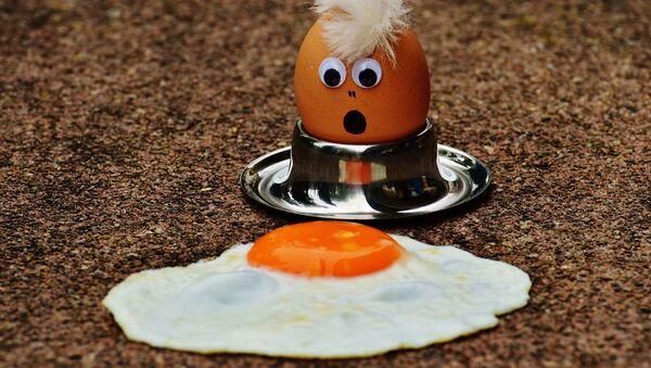 Zdziwione jajko - Sputnik Polska