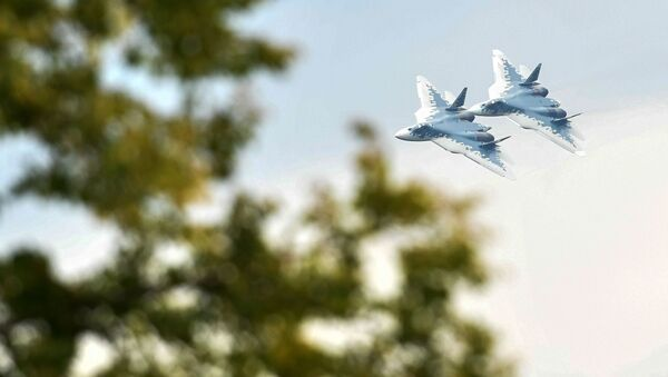 Su-57 - Sputnik Polska