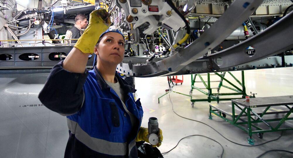 Pracownica fabryki