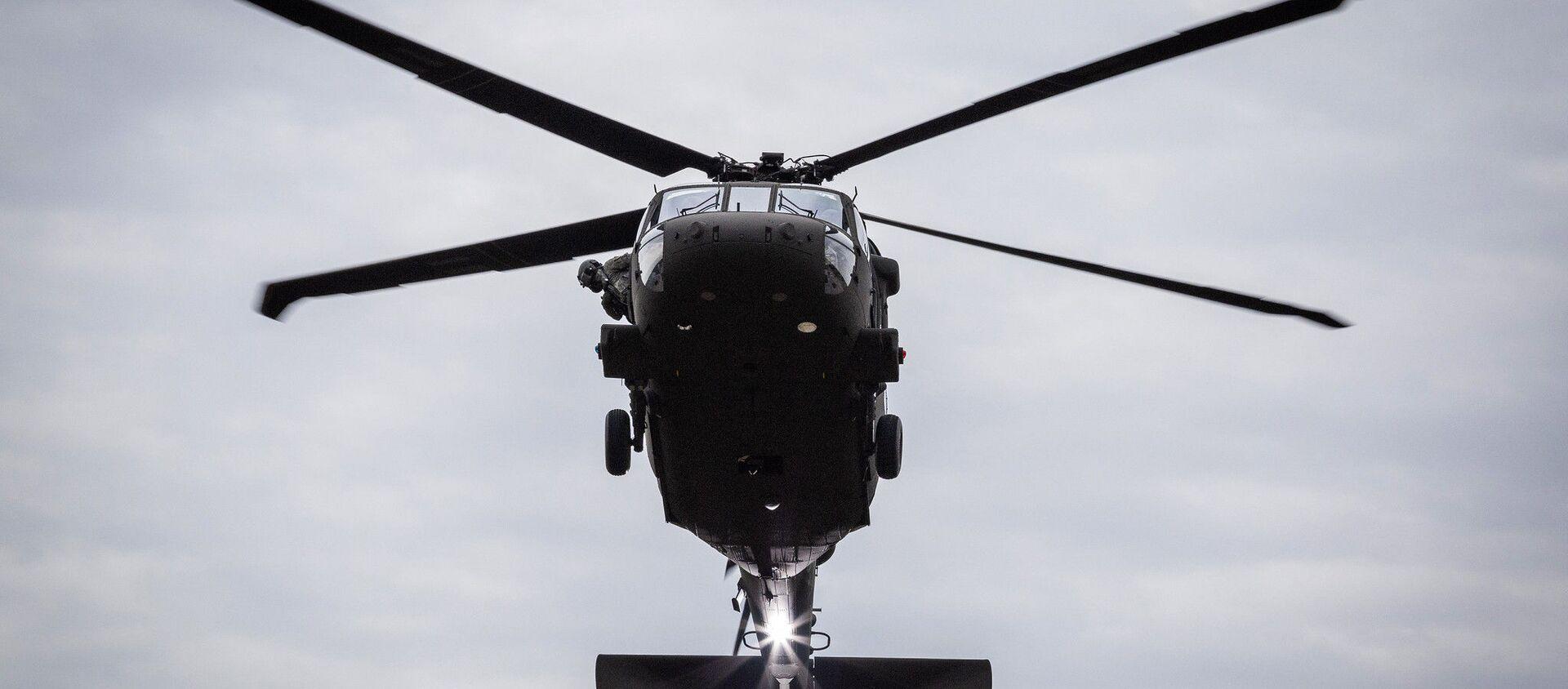 Amerykański śmigłowiec UH-60M Black Hawk - Sputnik Polska, 1920, 02.08.2019