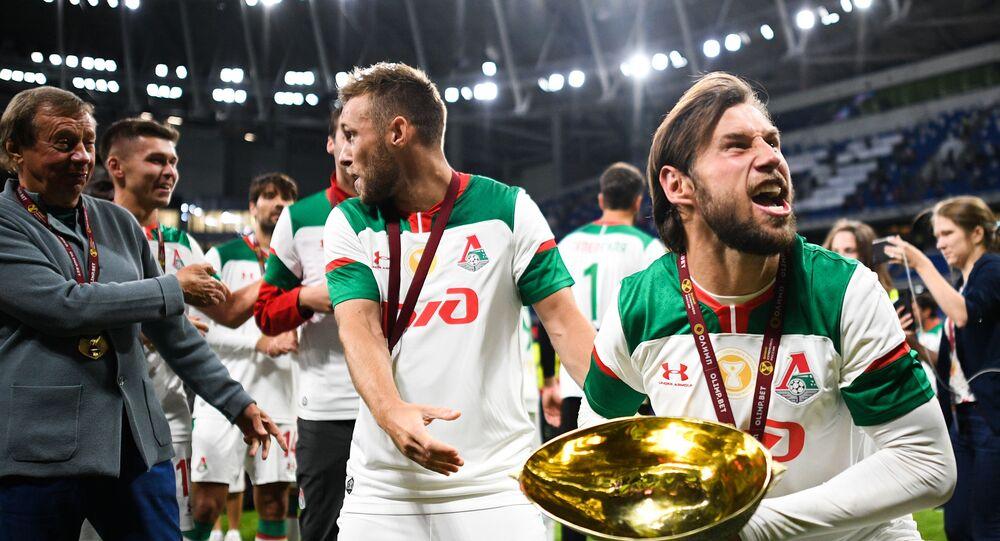 Grzegorz Krychowiak po wygranym meczu Lokomotiwu z Zenitem