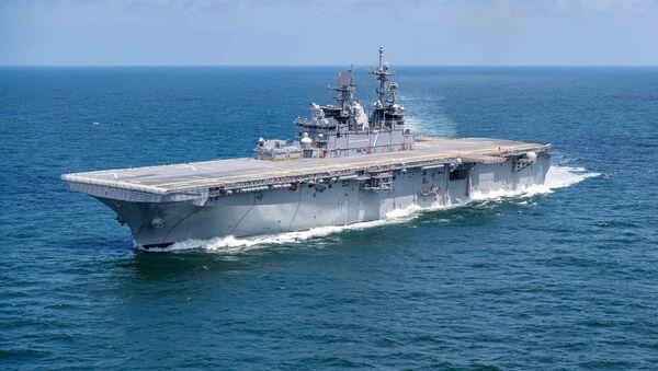 USS Tripoli - Sputnik Polska