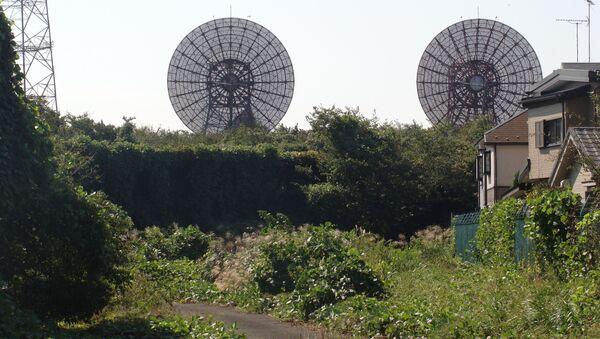 Stacja komunikacyjna w bazie lotniczej Futu w Japonii - Sputnik Polska