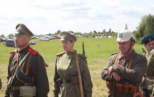 Rekonstrukcja bitwy pod Gąbinem - Sputnik Polska