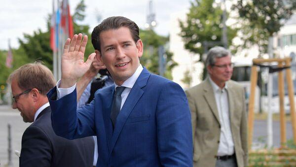 Były kanclerz Austrii Sebastian Kurz - Sputnik Polska