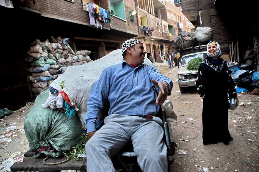 Mieszkańcy Kairu, Egipt