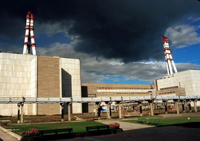 Ignalińska Elektrownia Atomowa na Litwie