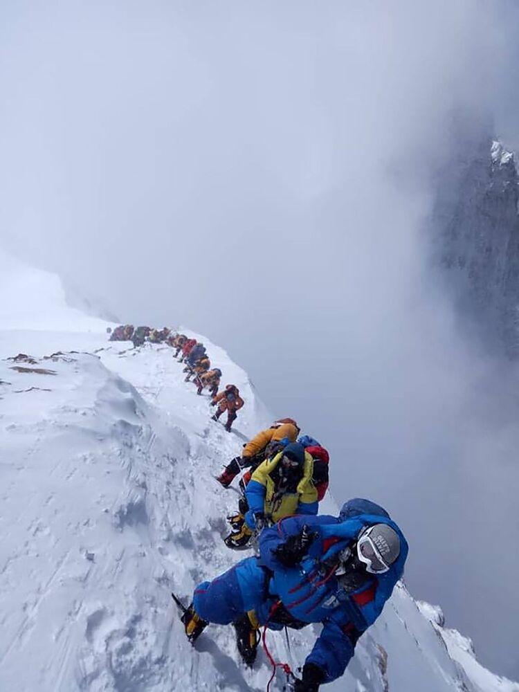 Wspinaczka na Mount Everest