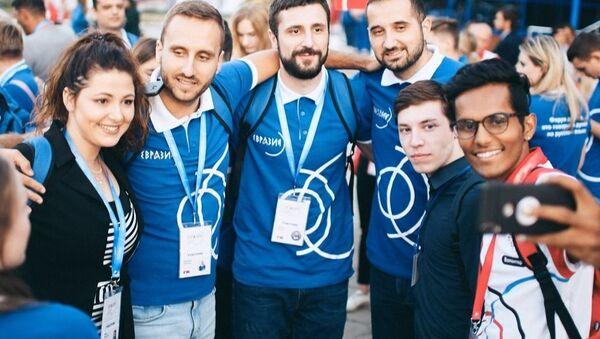 Uczestnicy forum Eurazja Global - Sputnik Polska