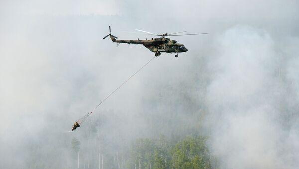 Likwidacja pożarów w Kraju Krasnodarskim - Sputnik Polska