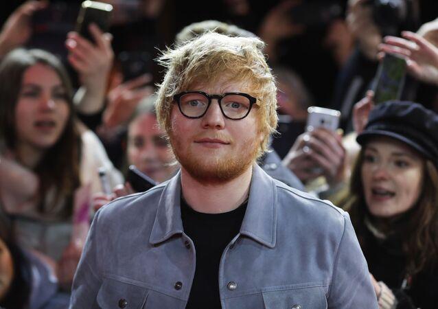 Brytyjski muzyk Ed Sheeran