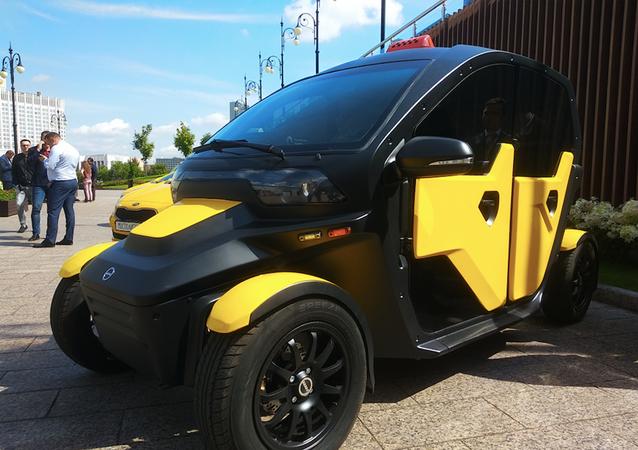 Samochód elektryczny UV-4 przedsiębiorstwa Kałasznikow