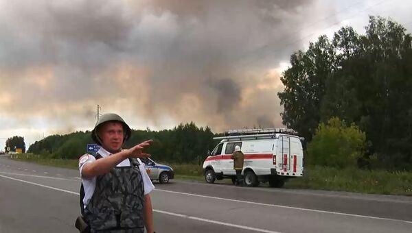 Wybuchy na poligonie wojskowym pod Aczyńskiem - Sputnik Polska