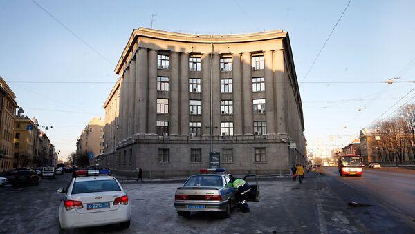 Gmach Głównego Zarządu Spraw Wewnętrznych w Petersburgu  - Sputnik Polska