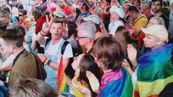 Marsz Równości w Płocku - Sputnik Polska