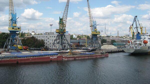 Port morski w Chersoniu - Sputnik Polska