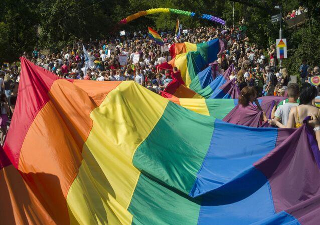 Parada równości w Pradze