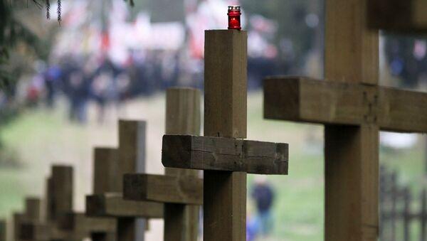 Krzyże w Kuropatach - Sputnik Polska