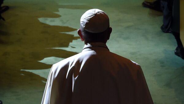 Papież Franciszek w ONZ - Sputnik Polska