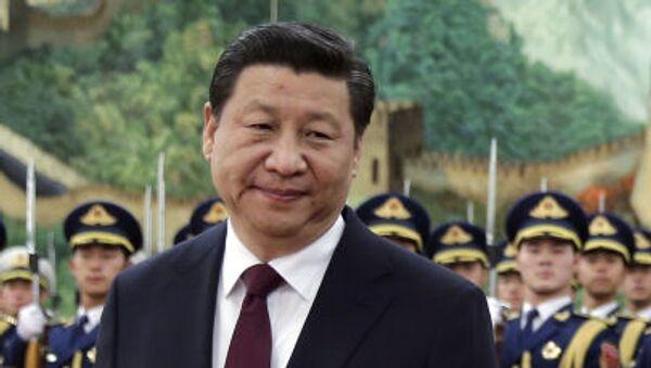 Przewodniczący Chin Xi Jinping - Sputnik Polska