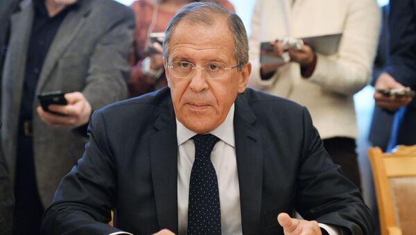 Minister spraw zagranicznych Rosji Siergiej Ławrow - Sputnik Polska