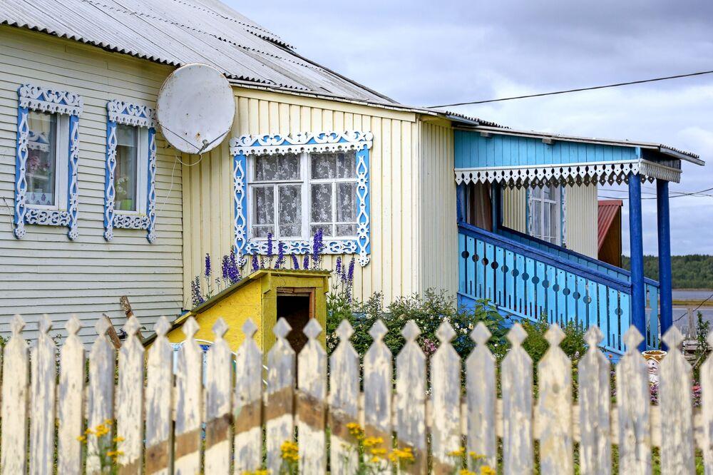 Dom w wiosce Kuzomień