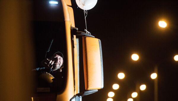 Kierowca TIR-a - Sputnik Polska