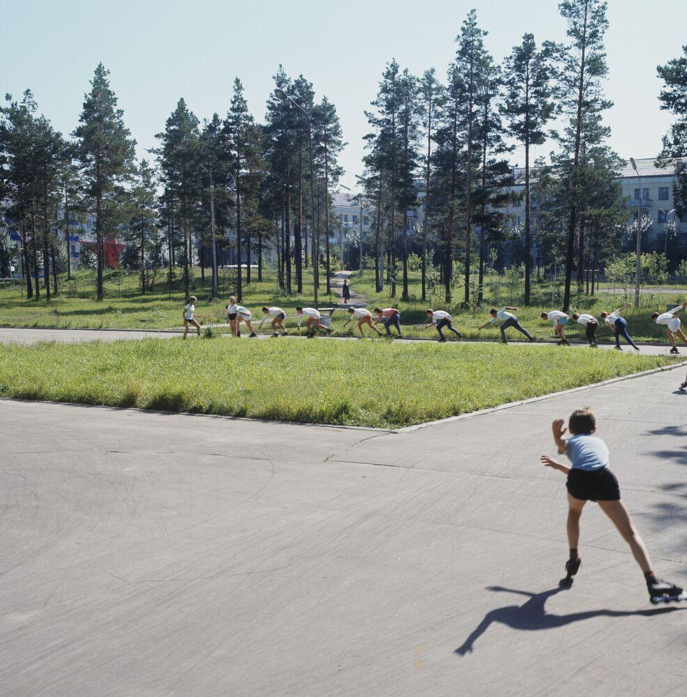 Wyścigi na rolkach, 1973 rok
