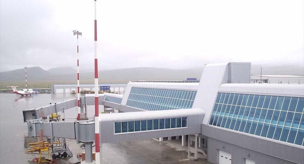 Lotnisko Anadyr na Czukotce