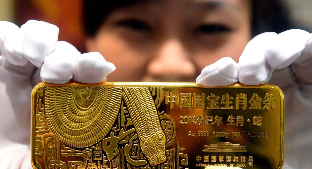 Sprzedaż złota w Pekinie