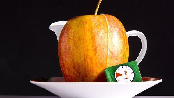Herbata i jabłko - Sputnik Polska