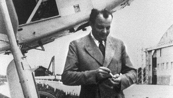 Francuski pisarz i pilot Antoine de Saint-Exupéry - Sputnik Polska