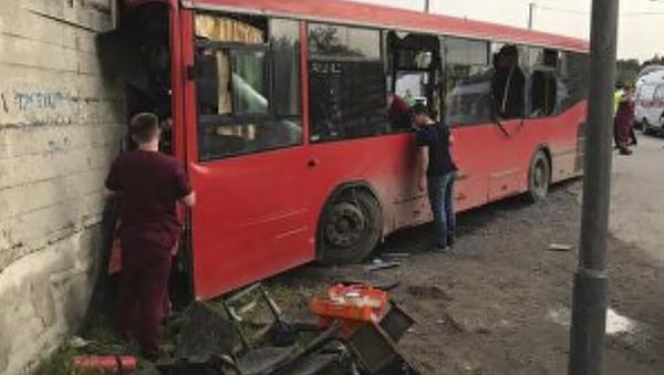 Wypadek autobusu w Permi - Sputnik Polska