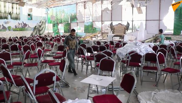 Atak terrorystyczny podczas wesela w Kabulu - Sputnik Polska