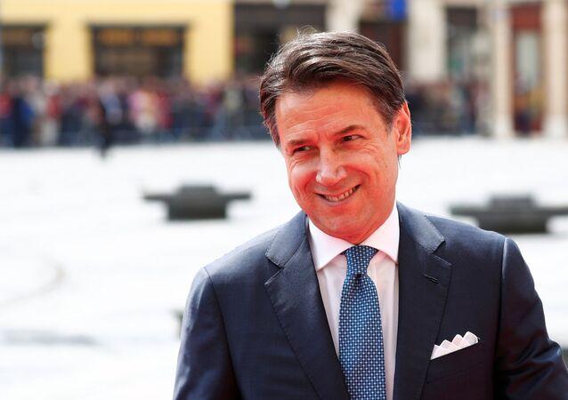 Premier Włoch Giuseppe Conte