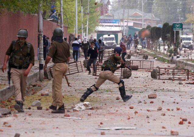 Protesty w Kaszmirze, 2018 r.