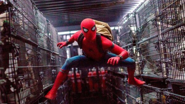 "Kadr z filmu ""Spider-Man: Daleko od domu"" - Sputnik Polska"