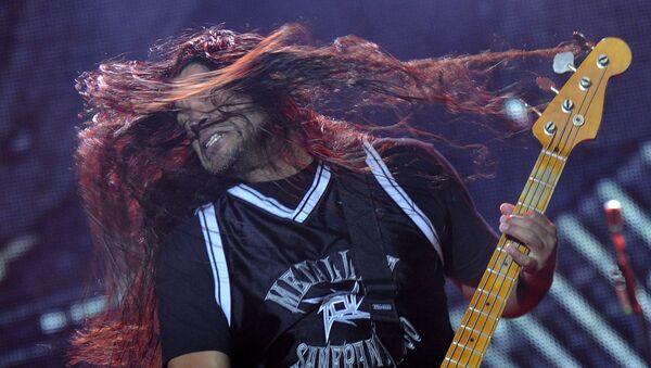Metallica na koncercie w Polsce, 16.06.2010 r.  - Sputnik Polska