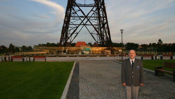 Dyrektor Muzeum Radiostacja Gliwice Andrzej Jarczewski, 2009 rok - Sputnik Polska