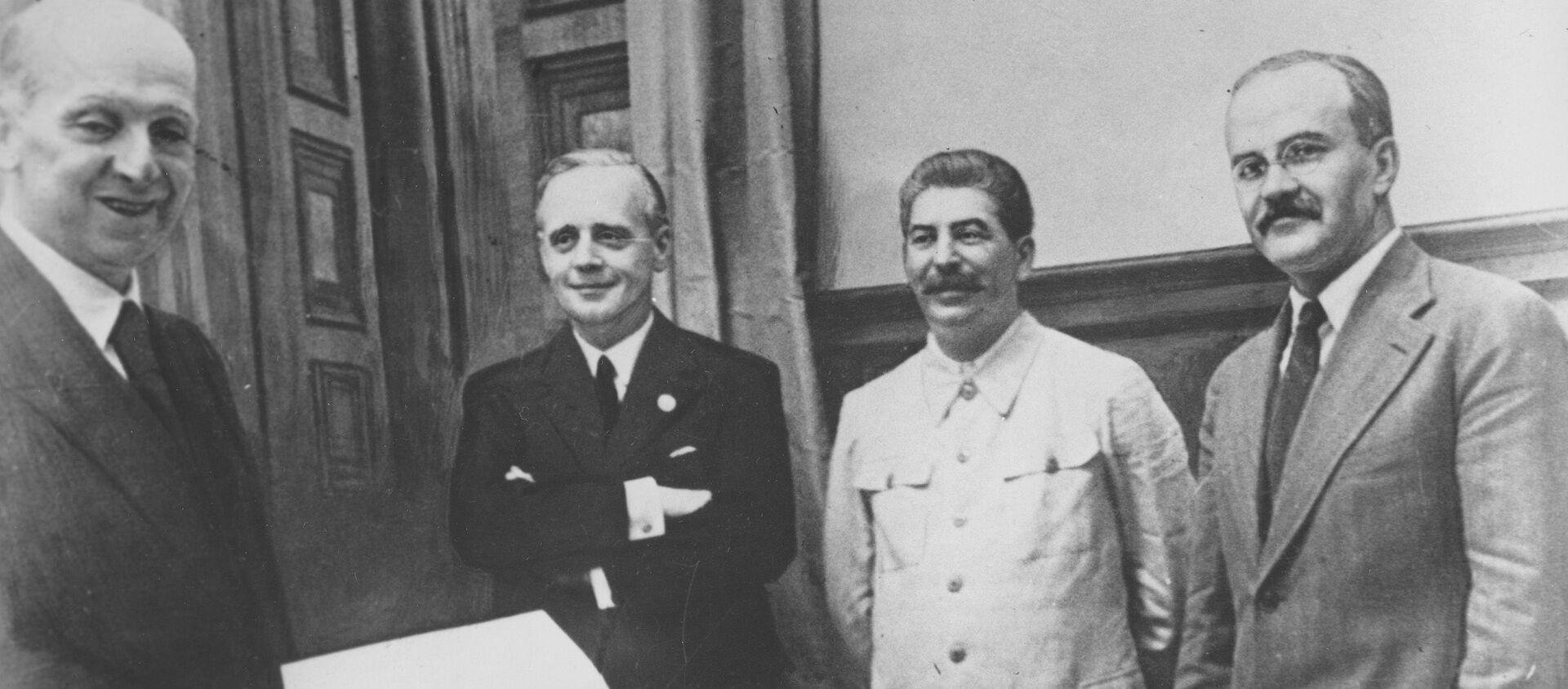 Podpisanie paktu Ribbentrop-Mołotow - Sputnik Polska, 1920, 11.06.2021