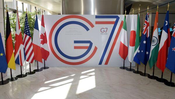 Szczyt G7 - Sputnik Polska