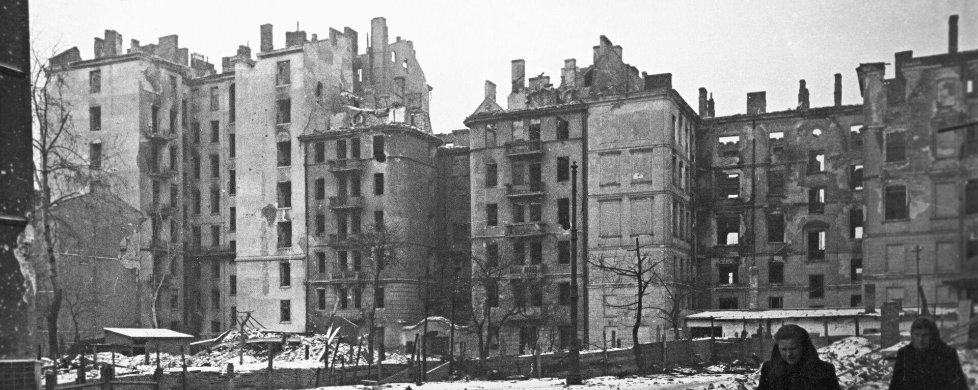 Zniszczona Warszawa - Sputnik Polska, 1920, 26.06.2021