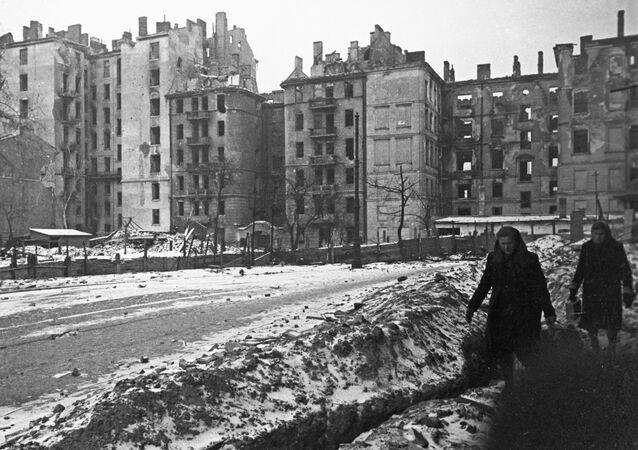 Wyzwolona Warszawa, styczeń 1945