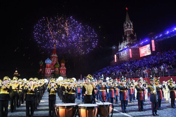 Próba generalna festiwalu Spasskaja Basznia 2019 - Sputnik Polska