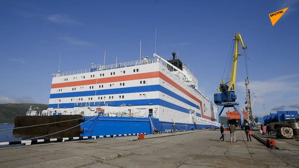 Pierwsza na świecie pływająca elektrownia atomowa - Sputnik Polska