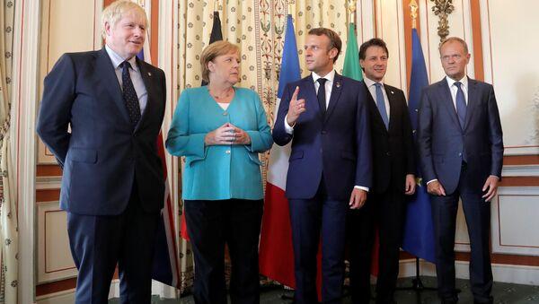 Przywódcy państw G7 w Biarritz. - Sputnik Polska
