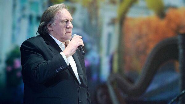 Francuski i rosyjski aktor Gerard Depardieu - Sputnik Polska