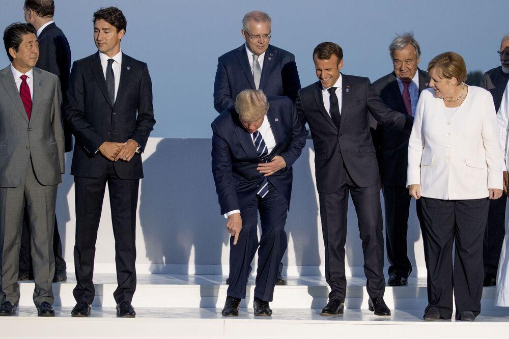 Liderzy państw na szczycie G7