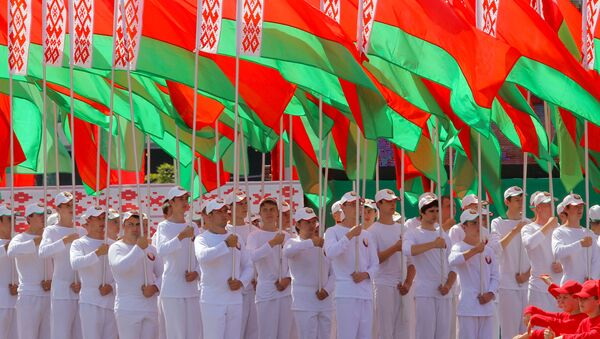 Białoruska młodzież - Sputnik Polska