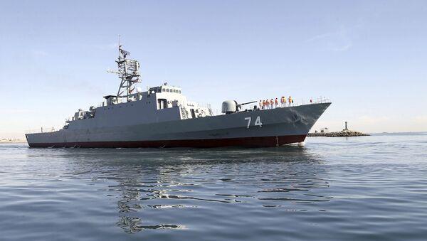 Najbardziej zaawansowany irański niszczyciel Sahand - Sputnik Polska